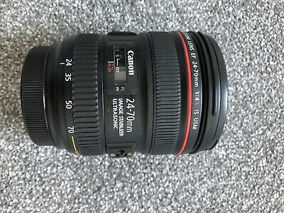 Canon EF 24-70mm f/4 L IS USM Lens BOXED
