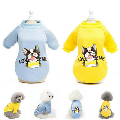 Pet Coat Dog Jacket Cool Clothes Puppy Cat Sweater Coat Clothing Apparel 2019