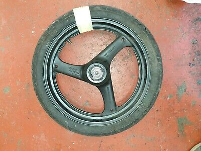 Suzuki Gs500 2000  Front Wheel With Usable Tyre