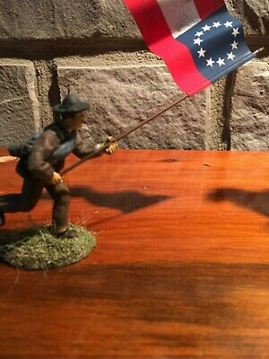 Conte ACW LSS plastic flag bearer Conversion. 1st National S and B