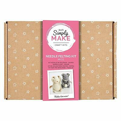 Docraft Simply Make Craft Kit Needle Felting Mica