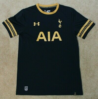 wholesale dealer 0b742 02600 UNDER ARMOUR TOTTENHAM Hotspur Soccer Jersey - Youth XL Gold and Blue EPL