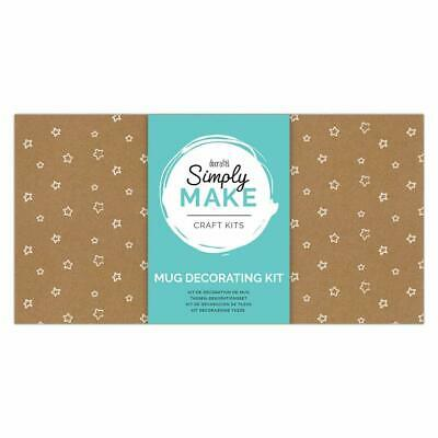 Docraft Simply Make Craft Kit Mug Decorating Kit