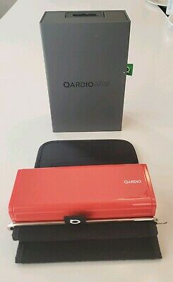 Qardio Arm Wireless Blood Pressure Monitor Apple iOS & Android  RED