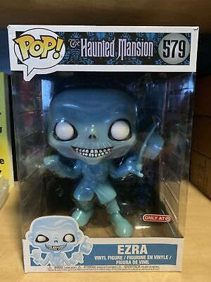 Funko Pop Haunted Mansion 10 Inch Ezra Disney Target Exc. Slight Damage