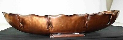 Coppercraft Hand Wrought Copper Sheet Oblong Vase Perfect for Narcissus Bulbs