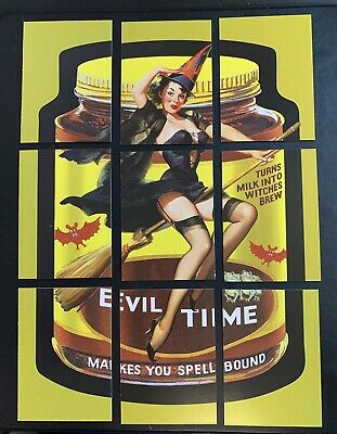 NEW Lost Wacky Packages VARIATIONS 8th SERIES Puzzle Set EVILTIME