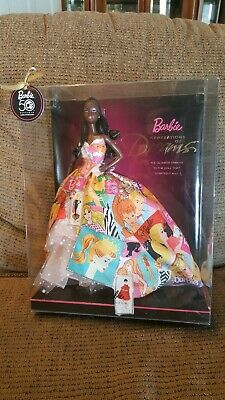Barbie 50Th Anniversary African American Generations Of Dreams Nrfb