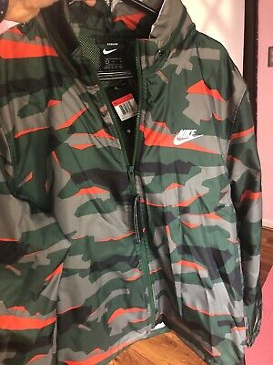 NEW ADIDAS CAMO Rev Windbreaker Camouflage Jacket Multicolor