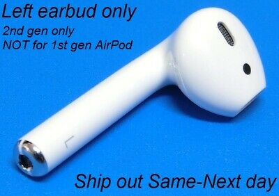 New Authentic Apple 2nd gen AirPod LEFT SIDE earbud ONLY Replacement A2031 A2032