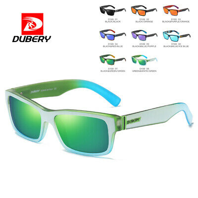 DUBERY Mens Womens Vintage Polarized Sunglasses Driving Eyewear Shades Holiday