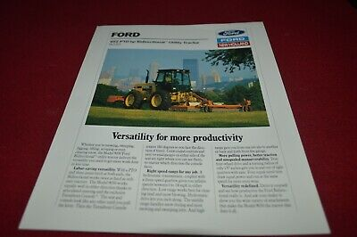 Ford Industrial 9030 Bidirectional Tractor Dealer's Brochure AMIL15