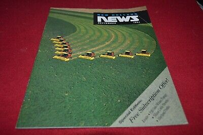 New Holland News September 1994 Dealer's Brochure AMIL15