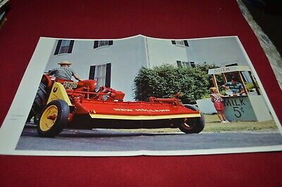 New Holland Hay Crusher Dealer's Brochure AMIL15