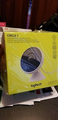 Logitech Circle 2 Wifi camera (BRAND NEW, NEVER OPENED) in double sealed box.