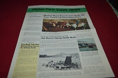 New Holland Grassland Farming Digest For 1955 Dealer's Brochure AMIL15