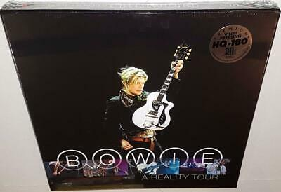David Bowie A Reality Tour (2016 Release) Brand New Sealed Translucent Vinyl Lp