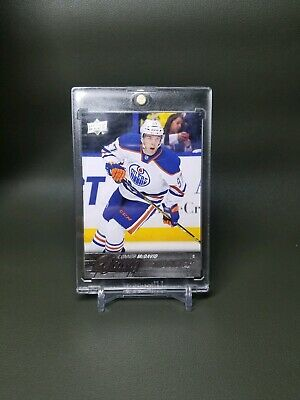 Connor McDavid 2015-16 Young Guns YG Upper Deck Series 1 Rookie Card #201