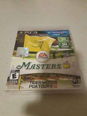 Masters Tiger Woods PGA Tour 12 PS3