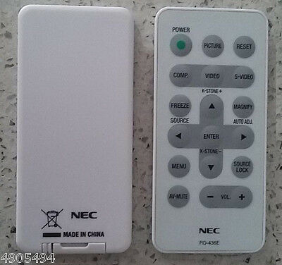 #T7886 YS NP200 Projector Remote Control RD-436E For NEC NP100 NP200 NP100