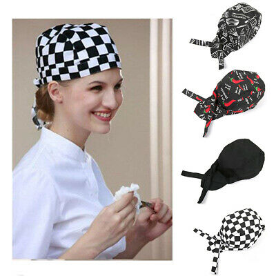 New Chefs Skull Cap Chef Hat Professional Catering Chef Cap Various Colours