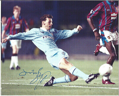 Brian Borrows Coventry Football Autograph Signed Photograph F1655