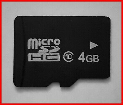 4GB_Micro_SDHC_Card_(Class_10) Speicherkarten_SD_Card