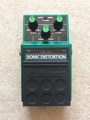 Maxon Sonic Distortion Sd-01 Effect Pedal