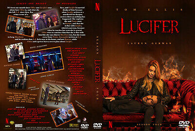 Lucifer Stagione 4 In Italiano Cofanetto Serie Tv Completa