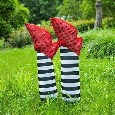 1PC Wicked Witch Leg Halloween Prop Decoration Ornament Decor