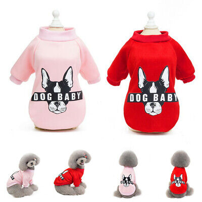 Pet Coat Dog Jacket Winter Clothes Puppy Cat Sweater Coat Clothing Apparel New