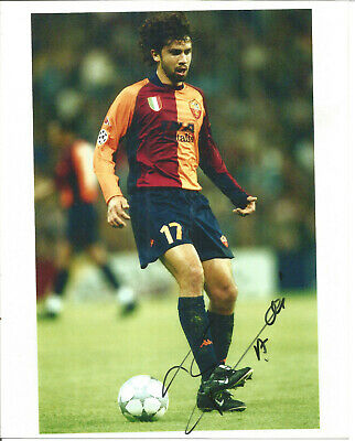 Damiano Tommasi Italian Footballer Autograph Signed Photograph F1677