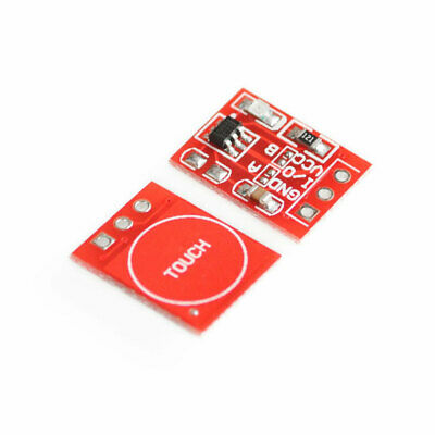 10Pcs TTP223 Capacitive Touch Switch Button Self-Lock Module  9UK MN