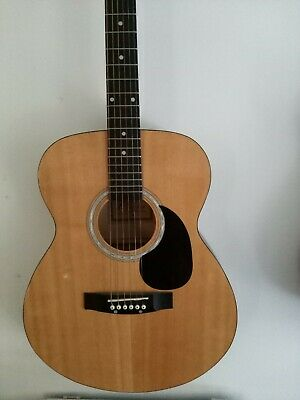 Full Size 6 String Steel Strung Acoustic Guitar by Charsley