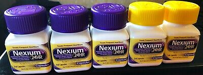 Nexium 24HR (70 Capsules) All-Day,All-Night Protection Frequent Heartburn 2021