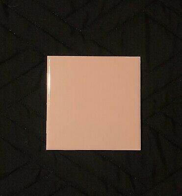 "Vintage Ceramic Wall Tile 4 1/4"" Light Pink Glossy Reclaimed Unused Condition Ea"