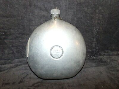 Vintage rare STANLEY metal water bottle canteen Man Cave decor aluminum