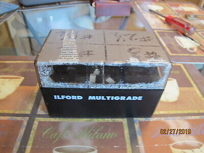 ILFORD Multigrade Filter Kit 8 MG Below Lens Set Vintage Used   Made in England