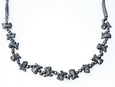 NECKLACE PENDANT beautiful shiny beads with fish