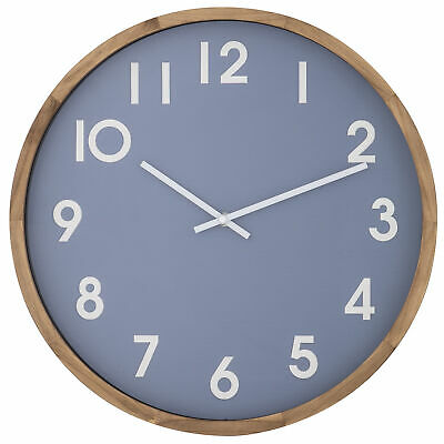 NEW 42cm Leso Wooden Wall Clock - The Home Collective,Clocks