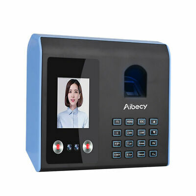 AIBECY Professional Facial Recognition Clocking in Machine Face Fingerprint UK