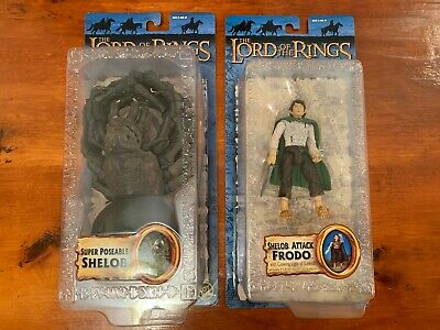 SHELOB & SHELOB ATTACK FRODO Figures Lord of the Rings RETURN OF THE KING NEW