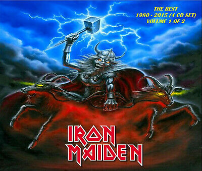 Iron Maiden - [Remastered] The Best Volume 1 of 2 (4 CD Set) New! Sealed!