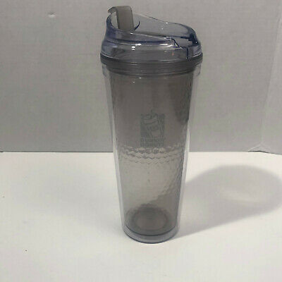 2015 Dunkin Donuts 24oz Acrylic Travel Tumbler , pre-owned, good condition