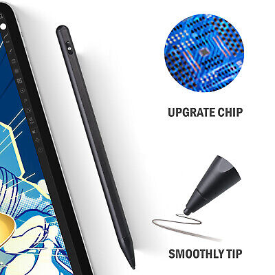 Digital Active Stylus Pen Pencil For iPad Android TouchScreen Fine Tip 1.45mm