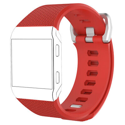 Fashion Durable Sport Silicone Wrist Bracelet Band Strap for Fitbit Ionic Soft