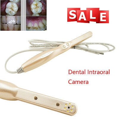 1024*768 Dental Intraoral Intra Oral Camera Dynamic 6-LED 4 Mega Pixels with USB