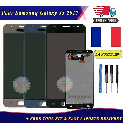 Écran complet LCD Screen + Tactile Samsung J3 2017 Noir Bleu Or Display + Outils