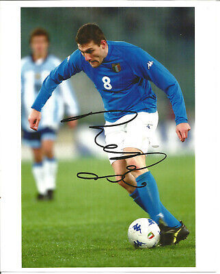 Christian Vieri Italian Football Player Autograph Signed Photograph F1685