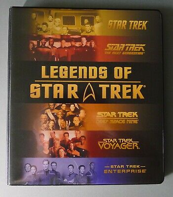 Star Trek - Legends Of Star Trek Trading Cards Limited Numbered Cards & Binder